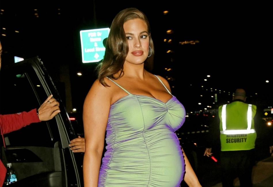 Ашли Греъм пренаписа правилата за стила на бременните