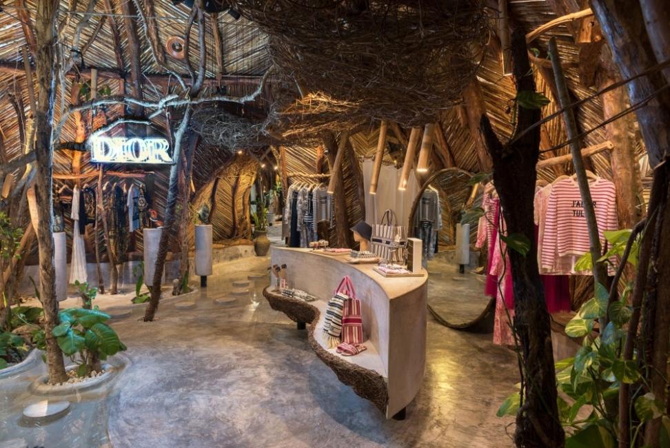 Dior отвори тропически pop-up бутик в Мексико