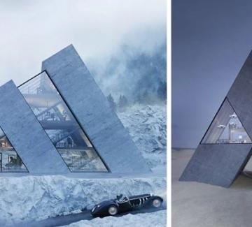 5 къщи, които приличат на известни лога