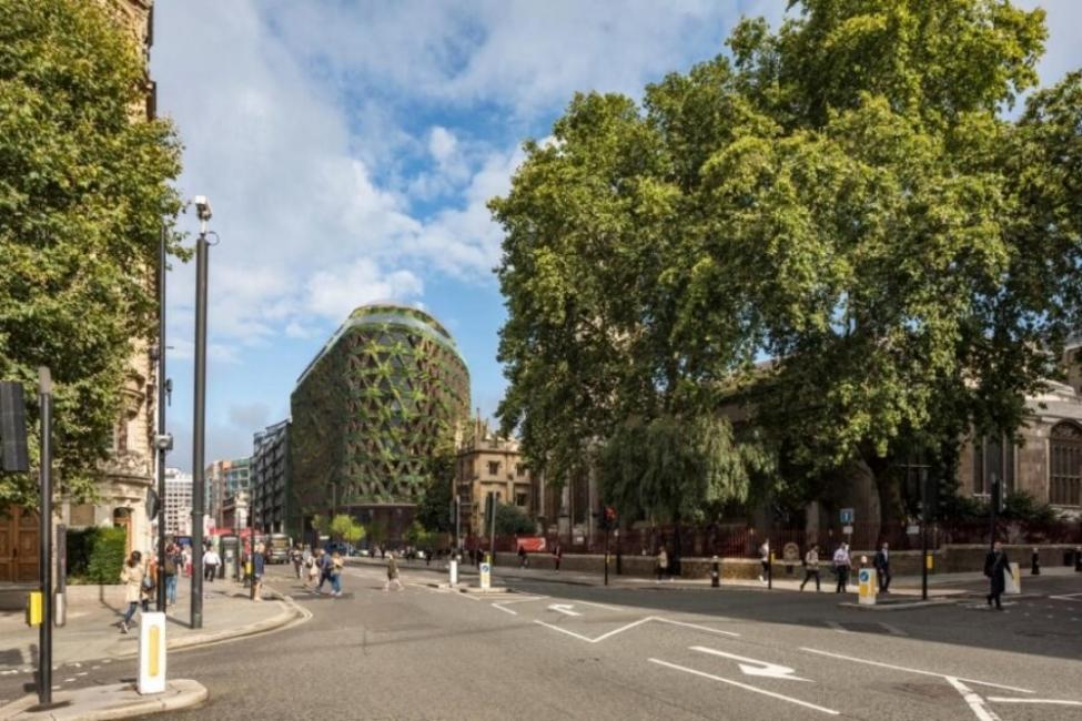 Изграждат най-голямата зелена стена в Европа