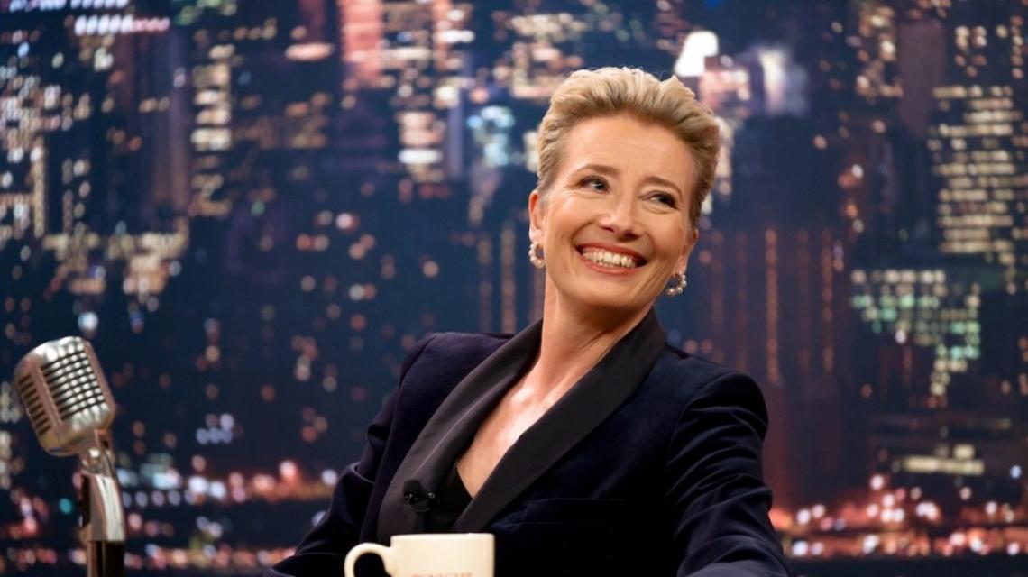 """""""Късното шоу"""": да спасиш Ема Томпсън"""