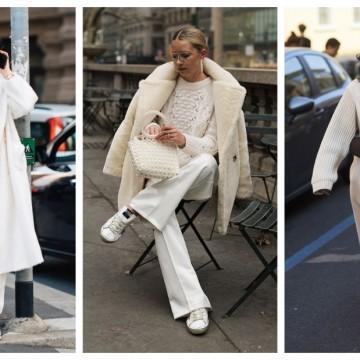 26 стайлинг идеи как да носим бяло палто