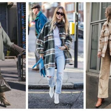 26 стайлинг идеи как да носим ризата като яке