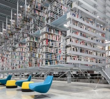 Библиотека във въздуха: как Корнелският университет посреща читателите