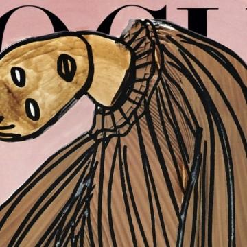 Защо италианският Vogue излезе без модни фотосесии?