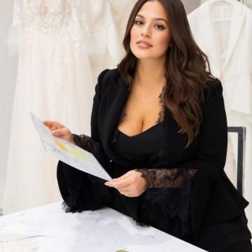 Ашли Греъм с plus size колекция от сватбени рокли