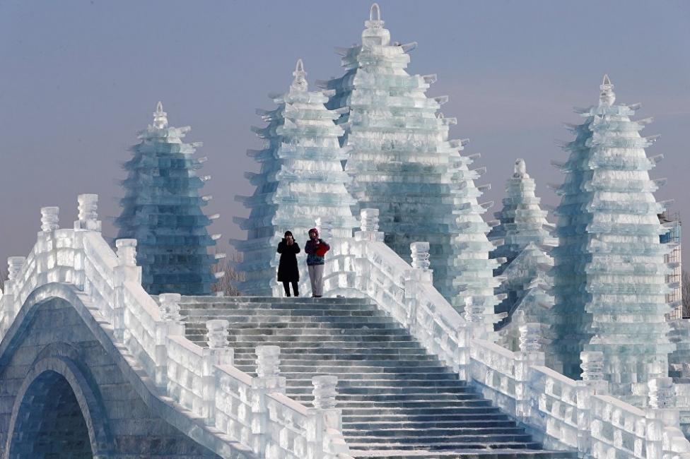 """Всичко, което можем да правим в """"ледения град"""" в Китай"""