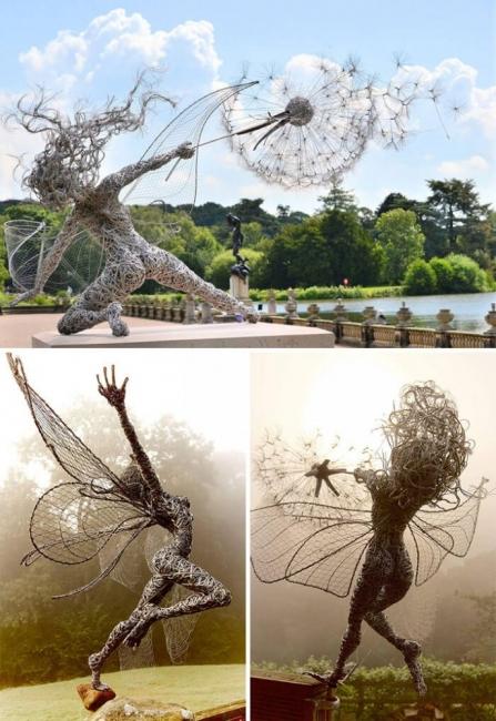 21 невероятни скулптури отвъд гравитацията