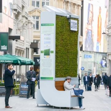 Лондон пречиства въздуха по нестандартен начин