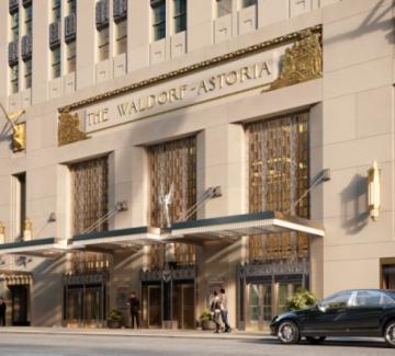 Waldorf Astoria - хотелът, ремонтиран за 1 милиард долара