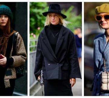 28 стайлинг идеи с шапките, които носим тази зима