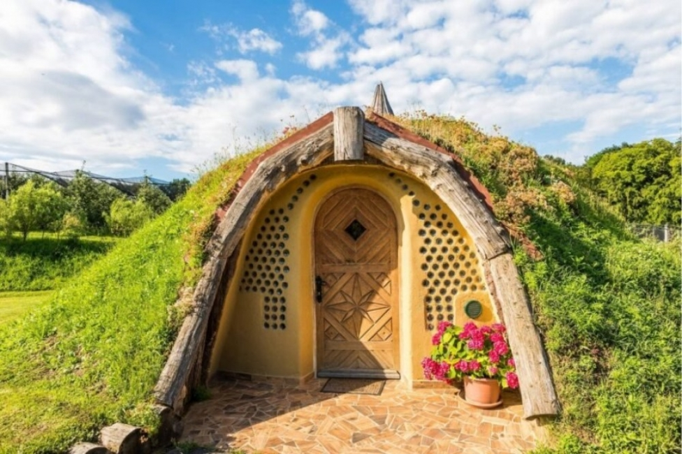Бихте ли отседнали в този хобитски дом?