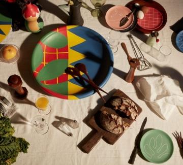Френска керамика, вдъхновена от живописта на Матис