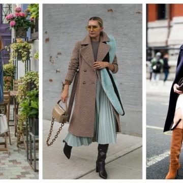 19 стайлинг идеи, в които комбинацията от палто и ботуши е всичко друго, но не и скучна