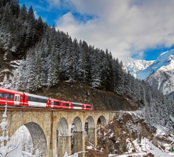 10 приказни пътувания с влак в Европа, едно от които е в България