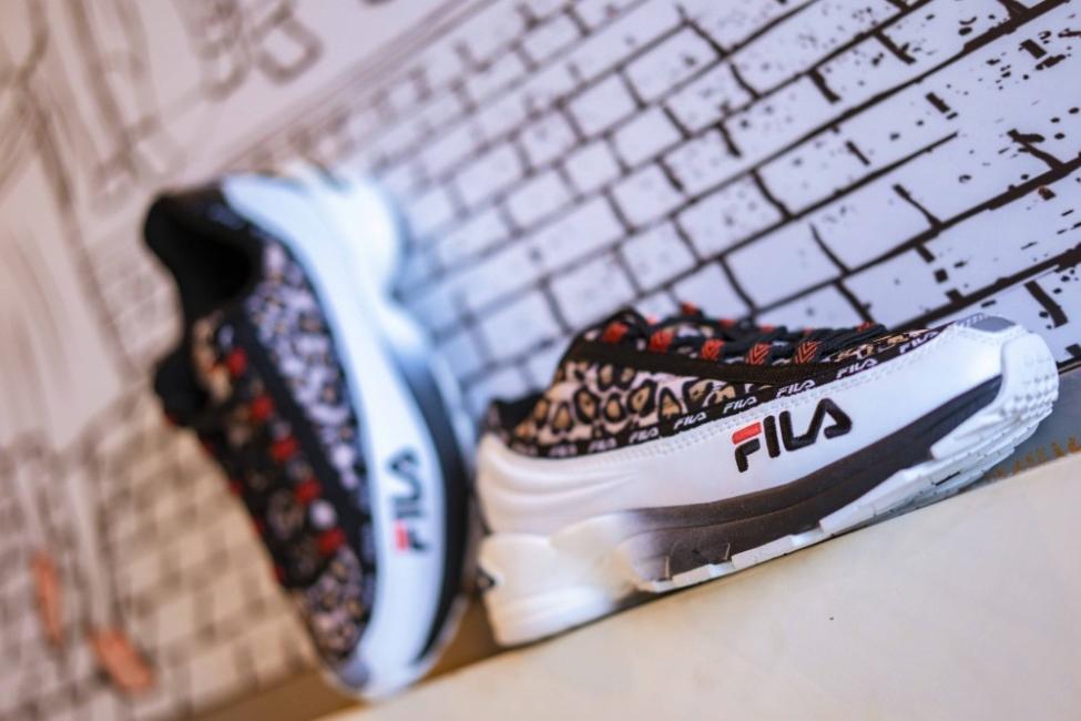 Находка на деня: маратонки Fila в леопардов принт
