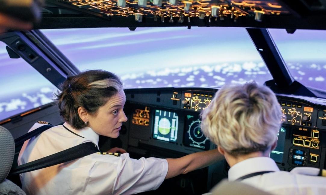 Кой казва, че най-добрите пилоти са мъже?