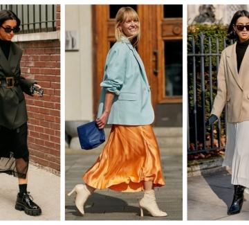 29 стайлинг идеи как да комбинираме сакото с пола или рокля