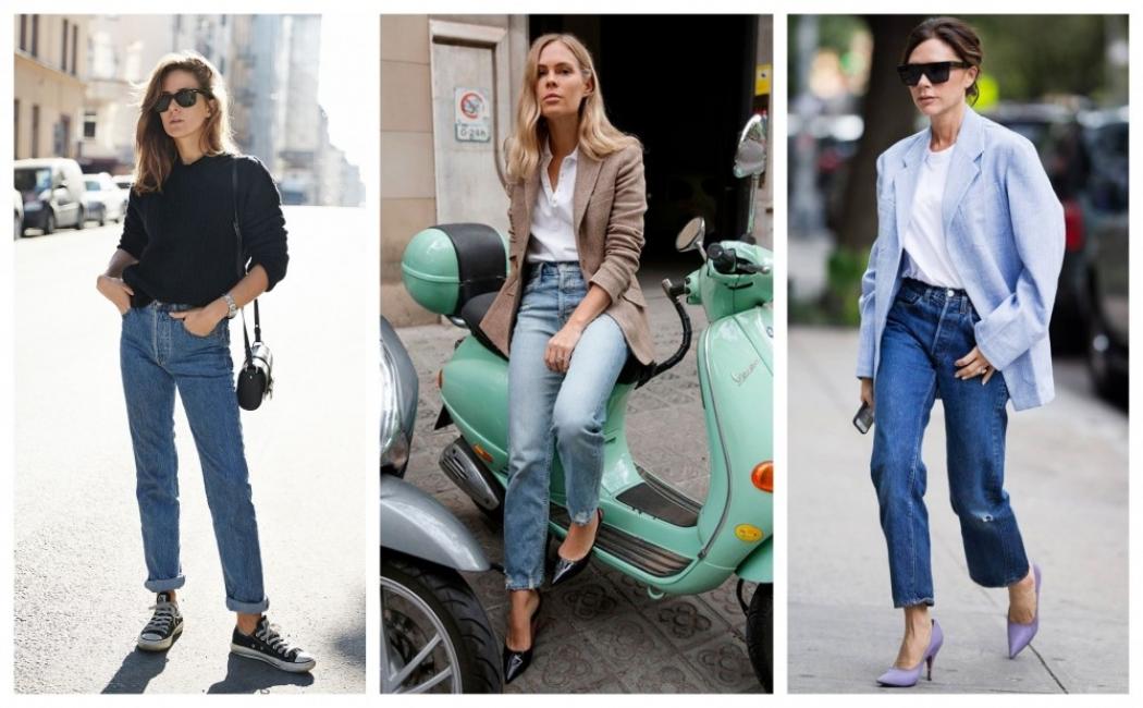 24 стайлинг идеи как да носим прави дънки
