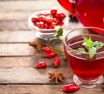 Чай от шипка за съвършена кожа
