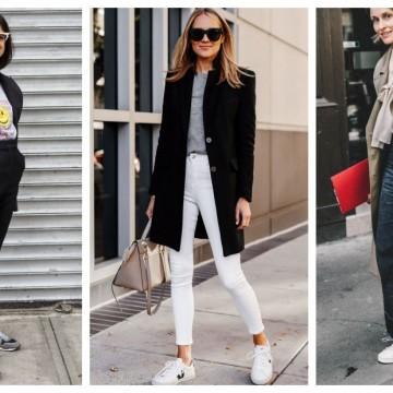 26 стайлинг идеи как да носим кецове и в офиса