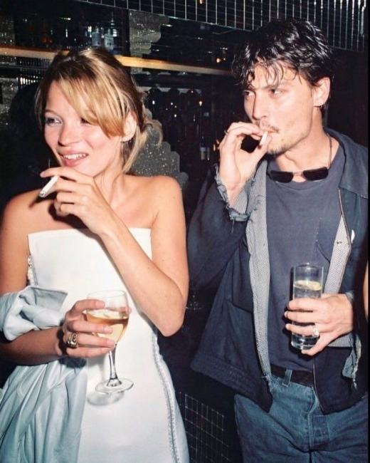 Любовта е лудост: Кейт Мос и Джони Деп