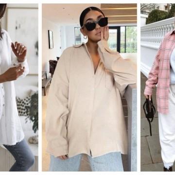 19 стайлинг идеи как да носим вкъщи любимата си широка риза