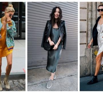 """28 стайлинг идеи как да носим роклята тип """"нощница"""""""