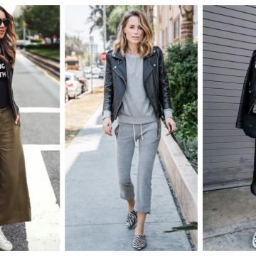 27 стайлинг идеи как да носим класическо кожено яке