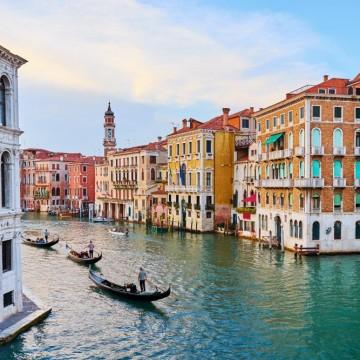 Венеция, моя любов! Пак ще те видя, макар и виртуално...