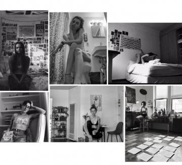Автопортрет на едно момиче в изолация