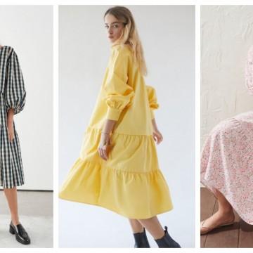 19 красиви обемни рокли, които можем да носим и сега, и след карантината