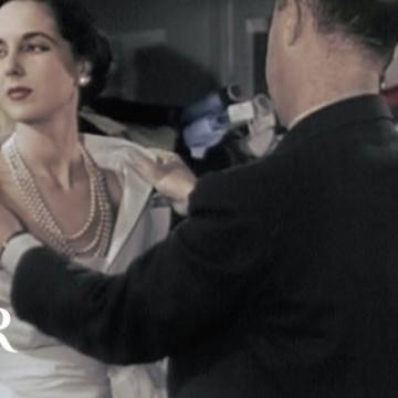Шоуто на Dior от 1949 г. - една легенда се завръща