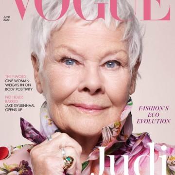 Джуди Денч стана най-възрастната звезда на корица на VOGUE
