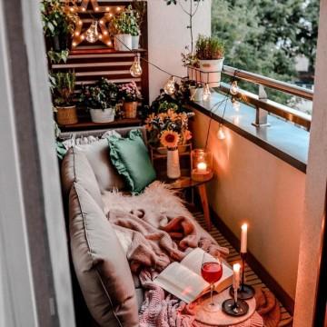 27 идеи за декориране на малка тераса