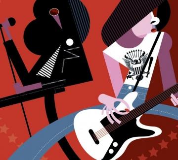 Сензационни изображения на най-известните музиканти в света