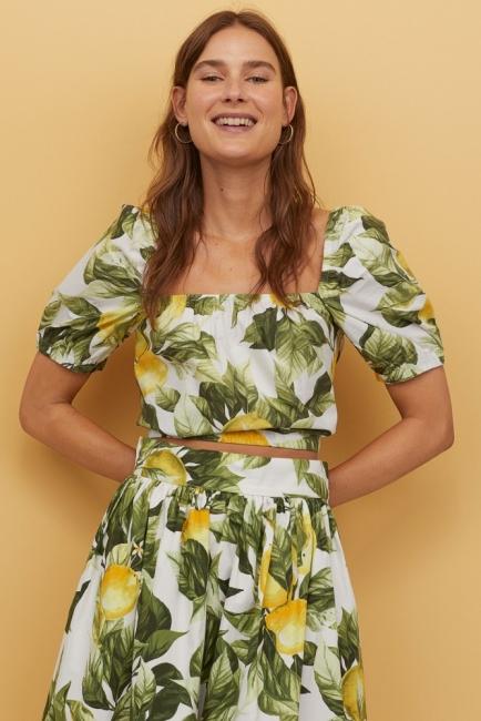 21 стайлинг идеи как да носим късите летни блузи