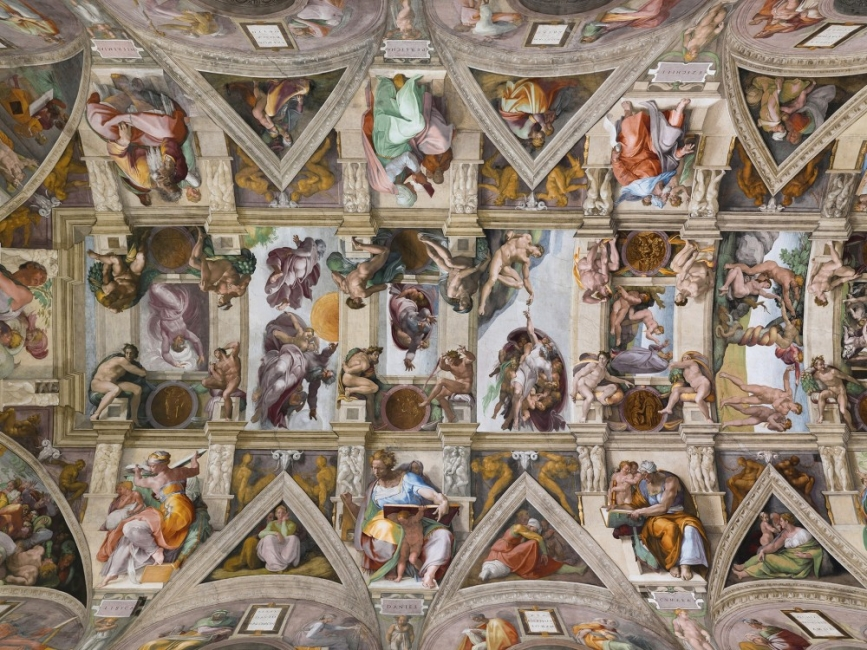 10 от най-запленяващите тавани в света