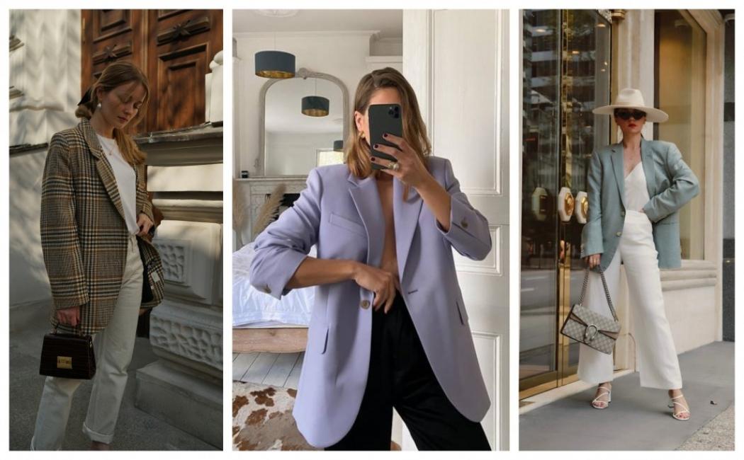 19 стайлинг идеи как да носим oversize блейзър