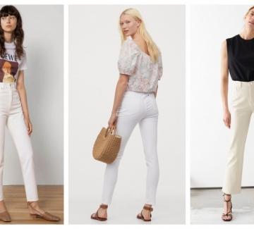 17 стайлинг идеи как да носим бели дънки това лято