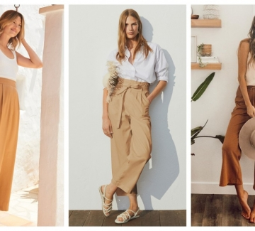 19 стайлинг идеи как да носим широк летен панталон