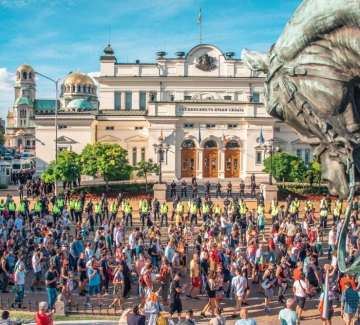 Протест срещу БНТ:  Не на цензурата!