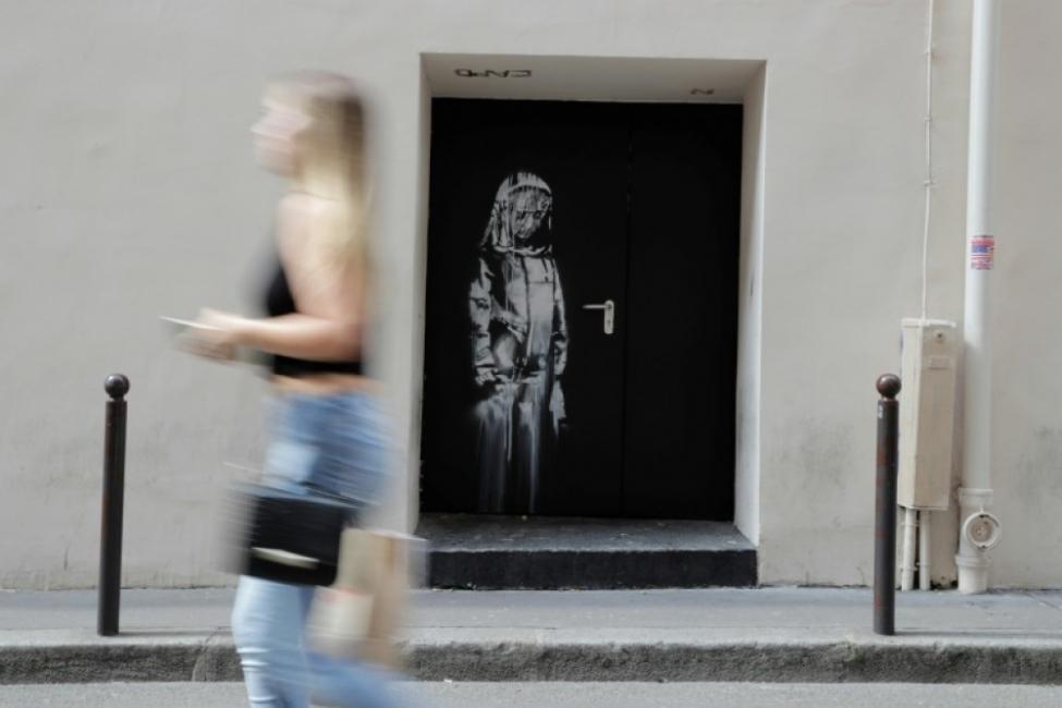 Италия върна на Франция откраднато произведение на Банкси