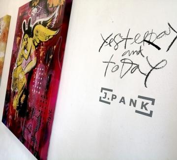 Yesterday and Today: Изложбата на J. PANK, която не трябва да пропускате