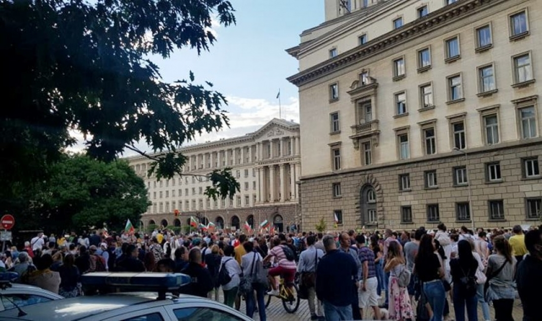 Милица Гладнишка разплака протестиращите