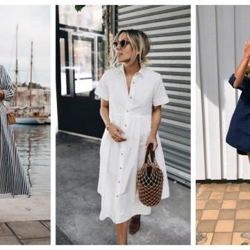 """24 стайлинг идеи как да носим рокля тип """"риза"""" в най-топлите дни"""