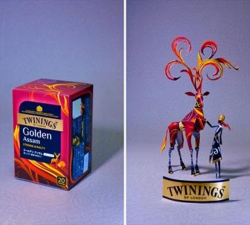 16 опаковки, докоснати от киригами