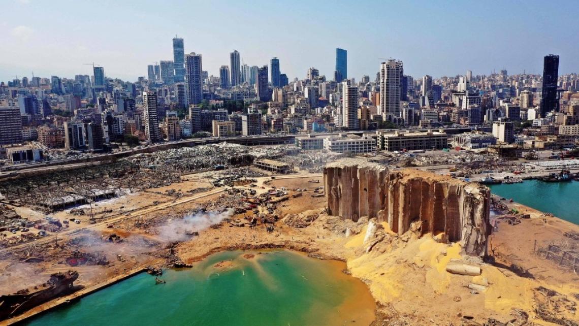 Разбитото сърце на Бейрут
