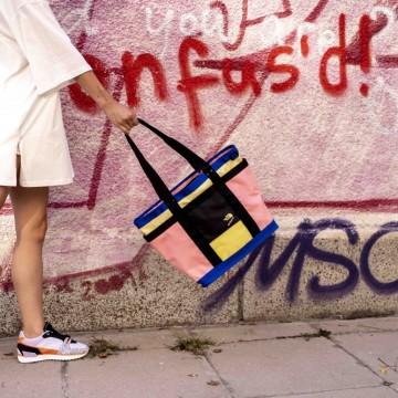 Находка на деня: цветна градска чанта на The North Face