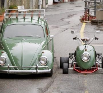 """""""Костенурката"""" на Volkswagen – претворена във велосипед"""